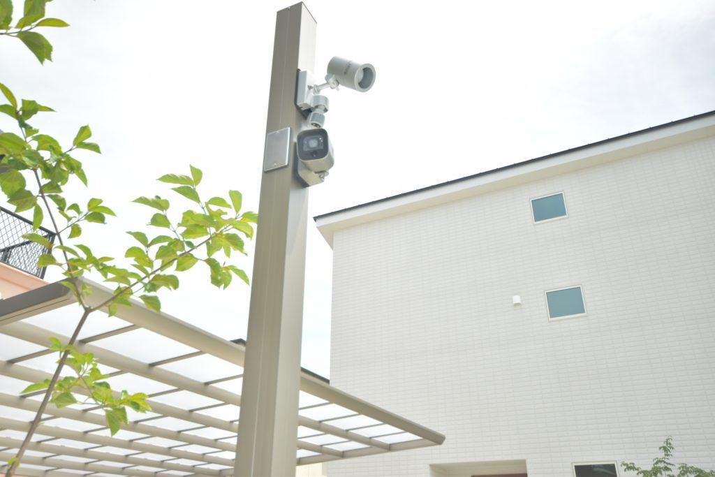 LIXIL カーポートカメラセット(防犯カメラ)