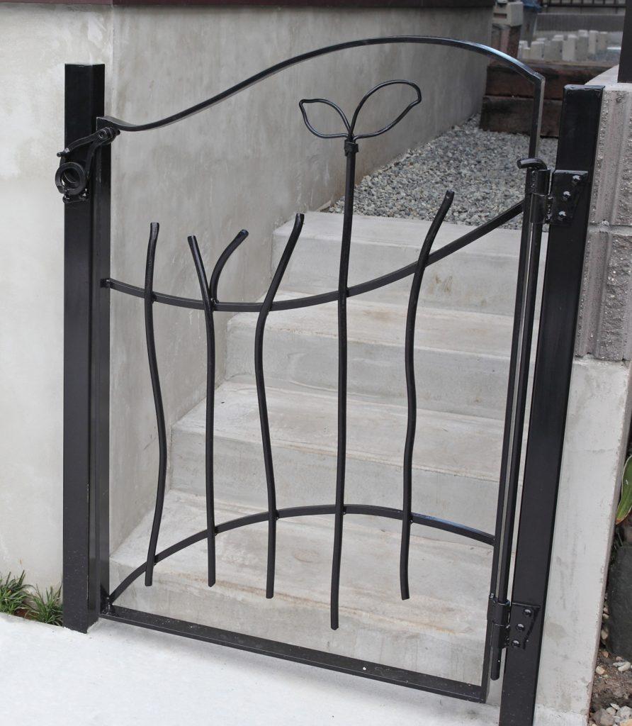 オリジナルアイアン  門扉