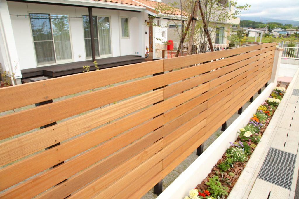 板塀 ハードウッド