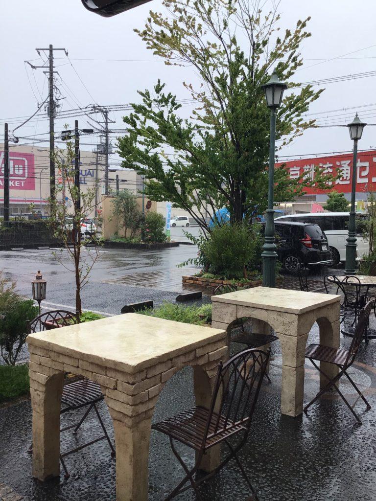 大雨です☔