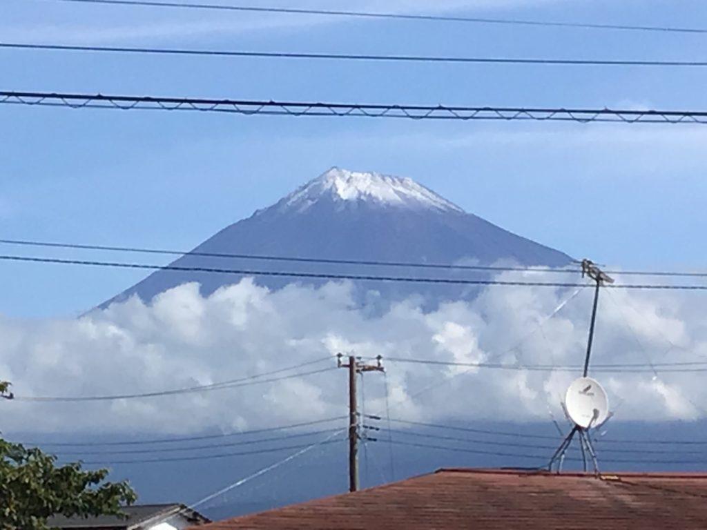 富士山🗻初冠雪